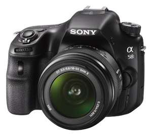 Sony Alpha 58 Kit 18-55 mm (SLT-A58K) für 363,25 € @Amazon.co.uk