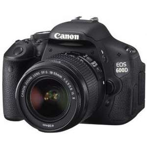 Bei Redcoon: Canon EOS 600D + EF-S18-55 IS II (SLR Kamera + EF-S18-55 1:3.5 - 5.6 IS II)
