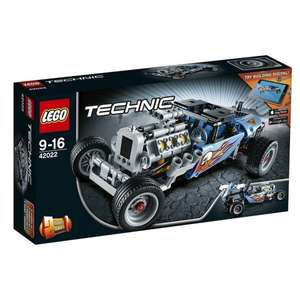 [Amazon.de Blitzdeal] LEGO 42022 - Technic Hot Rod ohne Vsk für 20,99 €