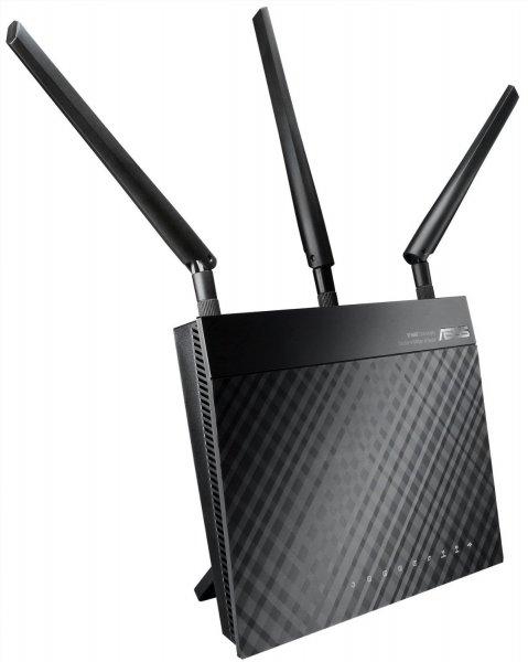 Asus RT-N66U N900 Black Diamond Dual-Band WLAN Router @ Ebay.de für EUR 89,90