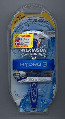 [Offline] Wilkinson Sword Hydro 3 Testpackung Rasierer + 2 Klingen 1,99 Rossmann
