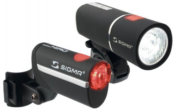 Sigma Fahrrad-Beleuchtungsset PAVA / HIRO für 37,92 €