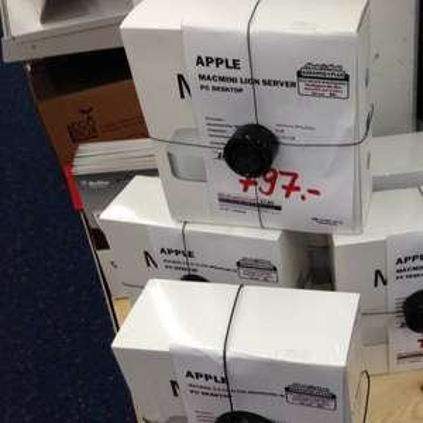 Mediamarkt Thun (CH) - apple mac mini server