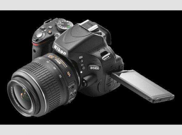 Nikon D5100 + 18 - 55mm VR Objektiv