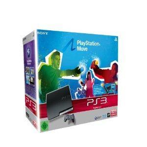 Sony Playstation 3 320GB Move Starter Pack für 299€ @Amazon