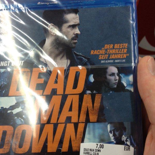 [Blu-ray] dead man down [lokal Media Markt Kaufpark Eiche]