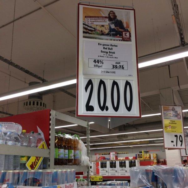 RedBull 24stk. 20€