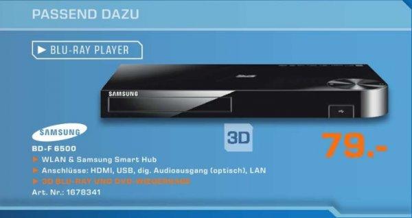 [Lokal] Samsung 3D-Blur-ray Player BD-F 6500 für 79€ @ Saturn Tübingen