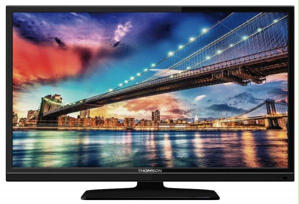 Thomson 40FU3253C/G 102 cm (40 Zoll) LED-Backlight-Fernseher, EEK A+ (Full HD, 100 Hz CMI, DVB-C/T, 2x HDMI, CI+, USB 2.0, Hotelmodus) schwarz