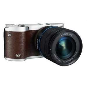 Samsung NX300 Braun + 18-55mm Kit 407,98€