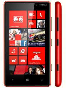 Nokia Lumia 820 gloss red [Amazon WHD - wie neu]