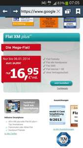 [hellomobil] All-Net-Flat + 1GB (7.200kb/s) Internet + SMS-All-Net-Flat