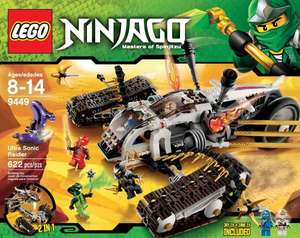 Ausverkauft [duo-shop] LEGO Ninjago 9449 Ultraschall Raider // Idealo 47€