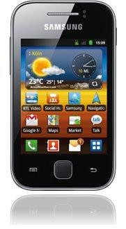 Samsung Galaxy Y bei Base für Euro 49,00