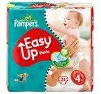 Pampers Easy Up 120Stk. für 15,99€ im amazon sparabo