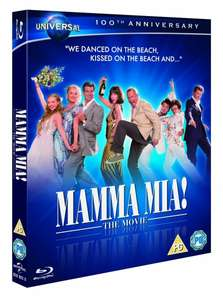 Blu-ray - Mamma Mia!: The Movie (Augmented Reality Edition) für €5,69 [@Wowhd.co.uk]