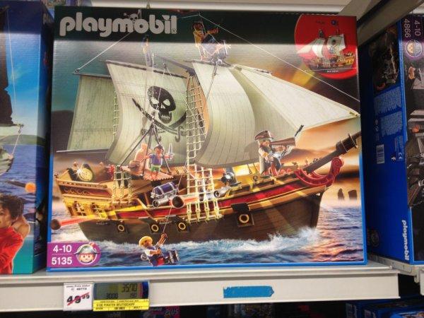 Offline - Metro: Playmobil mit bis zu 50% Rabatt - (z.B. Piraten-Beuteschiff für 35,70€)