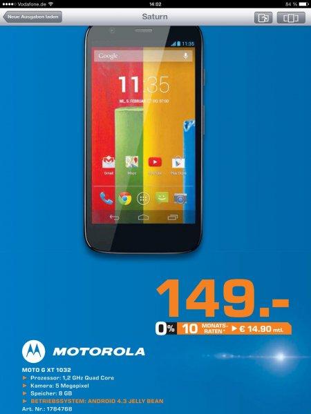 [Lokal Leipzig] Motorola Moto G 8GB