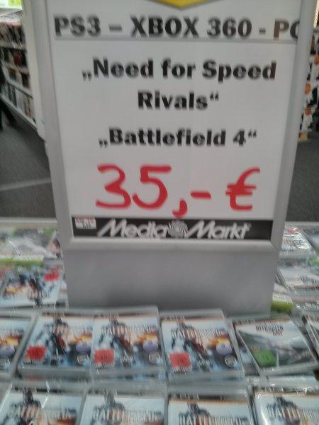 [lokal] MM in Düsseldorf Metrostrasse.  Ps3;xbox;Pc FIFA 14;  Battlefield 4;  NFS Rivals für 35€.