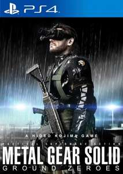 Metal Gear Solid V: Ground Zeroes (PS4 / Xbox One) Vorbestellung