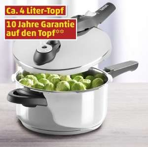 Tefal Schnellkochtopf secure 5 - 4 Liter bei Penny ab Do. 9.1.2014