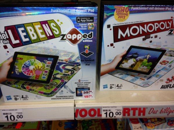 Zapped Monopoly und Spiel des Lebens für je 10€ in Buchholz in der Nordheide