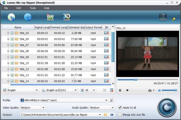 Leawo Blu-ray RIPPER (100% discount)