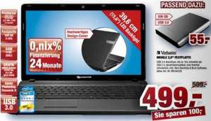 "Notebook PackardBell 15,6"", i5-2410M, GT520M, USB 3, 499 EUR @Staples offline"