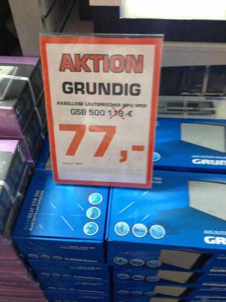 [Lokal Saturn Bielefeld] Grundig GSB 500 Portabler Bluetooth Lautsprecher für 77,00€ Idealo ab 93,00€