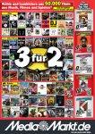 [Media Markt Stuttgart lokal] 3 für 2 (!!) vgl. Saturn bzw. amazon.de - gilt nicht für Spiele