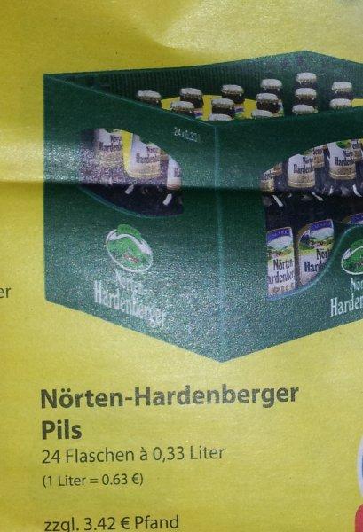 (Famila Nordwest) Kiste Nörten-Hardenberger 5€ + Pfand