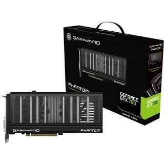 2048MB Gainward GeForce GTX 760 Phantom Aktiv PCIe 3.0 x16 (Retail) evtl. mit Batman und Splinter Cell