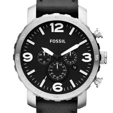 Fossil Herren-Armbanduhr XL Chronograph Quarz Leder für 79,99€ (@amazon)