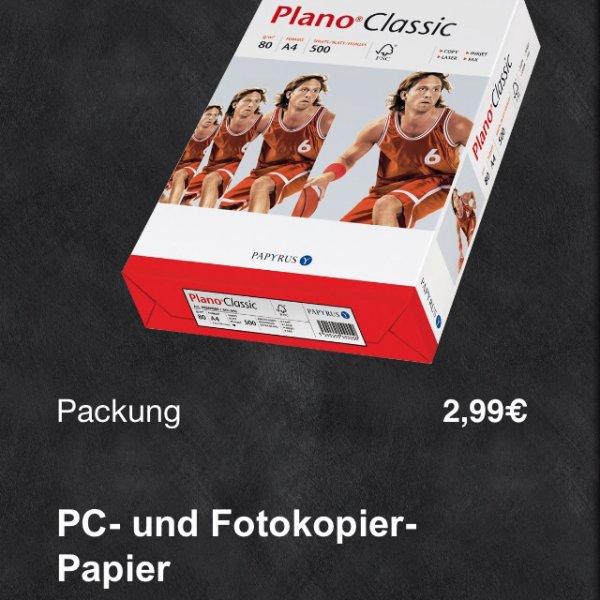 [Lokal Bielefeld] Edeka Niebur - Plano Classic PC- und Fotokopierpapier 500 Blatt