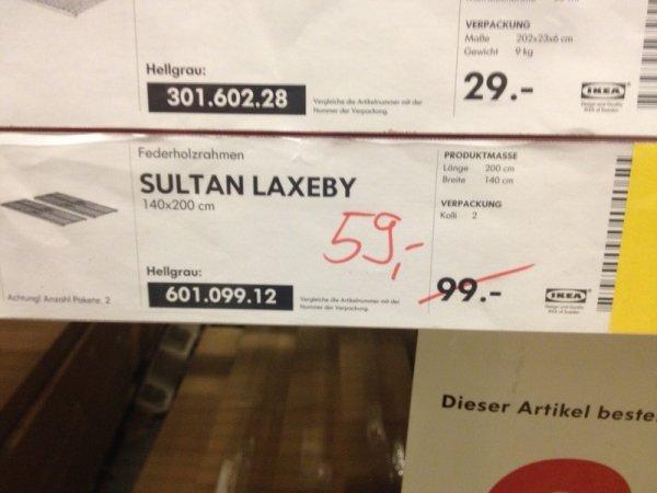 [LOKAL] Ikea Köln Butzweilerhof - Sultan Laxeby 1,40 x 2m Lattenrost  (- 40%)