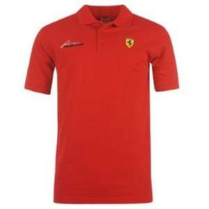 [sportsdirect] Ferrari Alonso Signature Polo