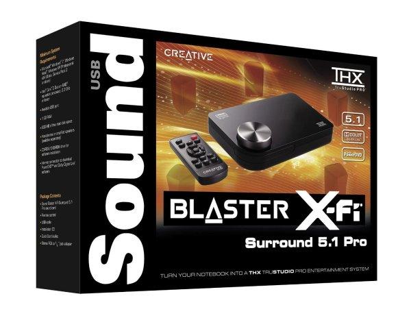 [Zack-Zack.de] Creative Sound Blaster X-Fi Surround 5.1 Pro ohne Vsk für 39,99 €