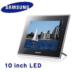 "Samsung SPF-1000W Digitaler 10"" LED-Bilderrahmen @iBOOD"