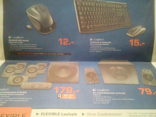[LOKAL SIEGEN] Logitech Z906/Z623/MK270/M325