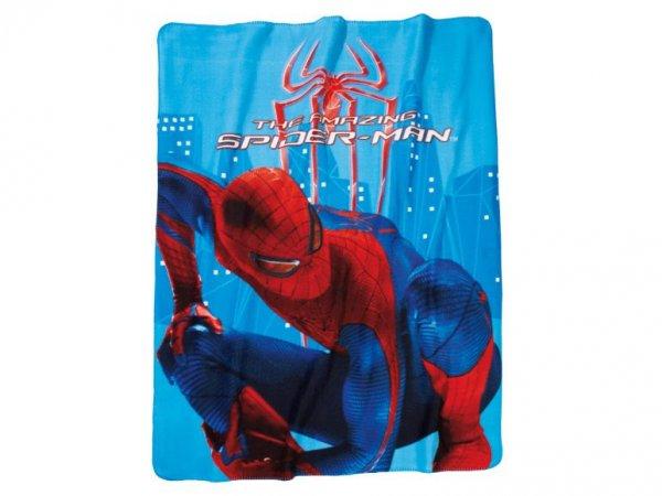 Spiderman Fleecedecke (B 1,30m x L 1,60m) für 3,99€ + 4,95€ Versand @Lidl Online