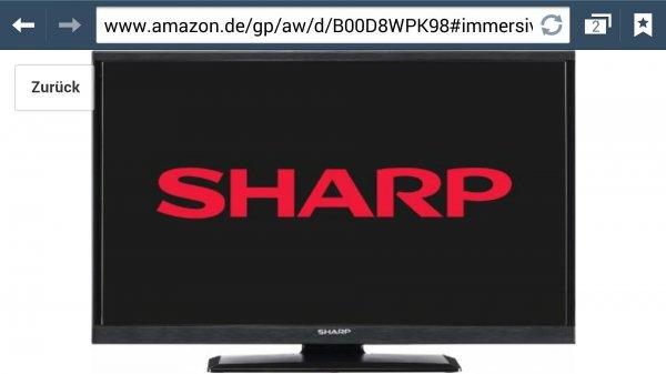 Sharp lc32ld145e für nur 199€ bei Amazon