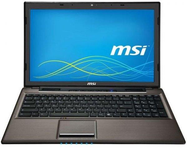 """[cyberport] 15.6"""" Notebook MSI CX61-i572M281BW7 - Core i5-4200M 2 x 2.50 GHz, 8GB RAM, 1 TB HDD, Blu-ray, USB 3.0 für 577 €"""