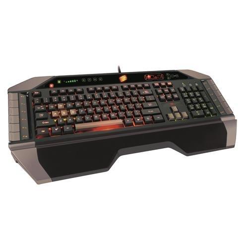 Cyborg Mad Catz V.7 USB Gaming Keyboard @ eBay WOW für 50€