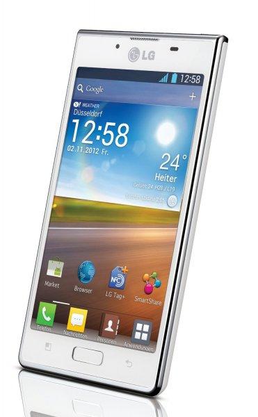 "LG™ - Smartphone ""P700 Optimus L7"" (4.3"" IPS,Android 4.1,5MP AF/LED Cam,4GB,NFC) für €129,99 [@MeinPaket.de]"
