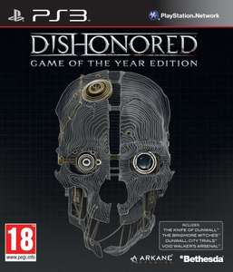 Dishonored: Game of the Year Edition (PS3) für 20,48€ @thegamecollection