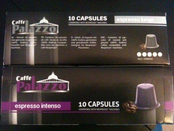 Caffe Palazzo - Nespresso alternative - espresso intenso / espresso lungo für 1.89€ @Action lokal