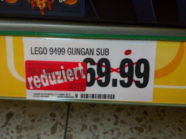 Marktkauf Saalfeld: LEGO Star Wars Gungan Sub 9499 für 49,00€
