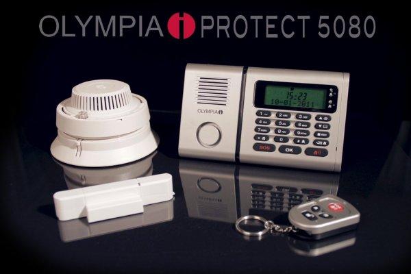 OLYMPIA Alarmanlage Protect 5080 mit Notruf- und Freisprechfunktion