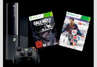 MICROSOFT Xbox 360 250GB inkl. FIFA 14 + Call of Duty: Ghosts für 199€ @ Saturn.de (bei Abholung) ansonsten +4,99€ Versand!