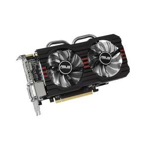 ASUS R7260X-DC2OC-2GD5 - Radeon R7 260X - 2 GB GDDR5 - PCI Express 3.0 - 2 x DVI, D-Sub, Dis­play­Port für 100,25 € @Amazon.co.uk